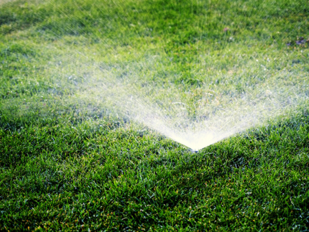 Save money by renovating your sprinkler system